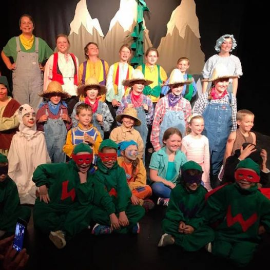 Peter and Wendy – Missoula Children's Theatre CAMP
