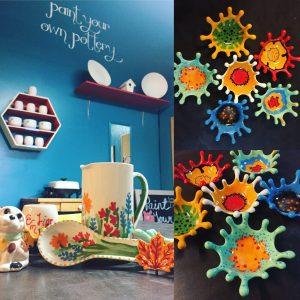 Paint Your Own Pottery: April