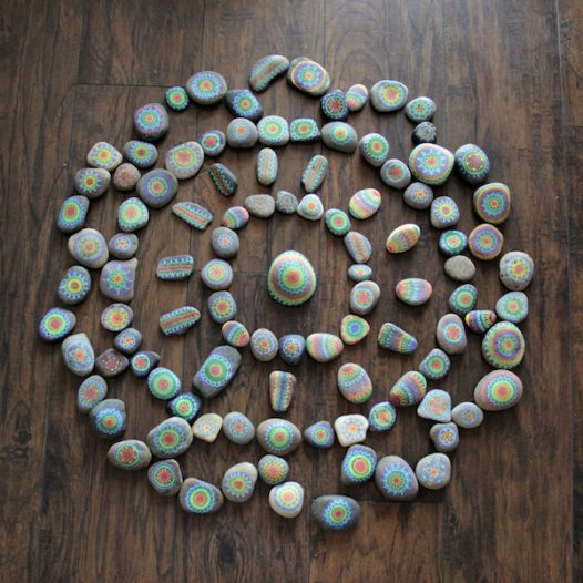 Meditation & Mandalas: Rock Painting Workshop ~ Virtual Course