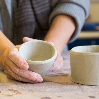 Beginner Ceramics: Hand Building and Wheel Throwing