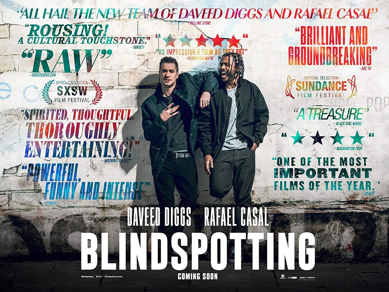 Monthly Film: Blindspotting