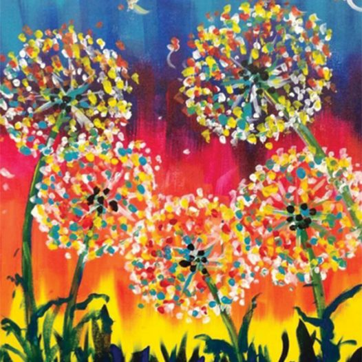 Discover Acrylics ~ (Ages 8 – 14)