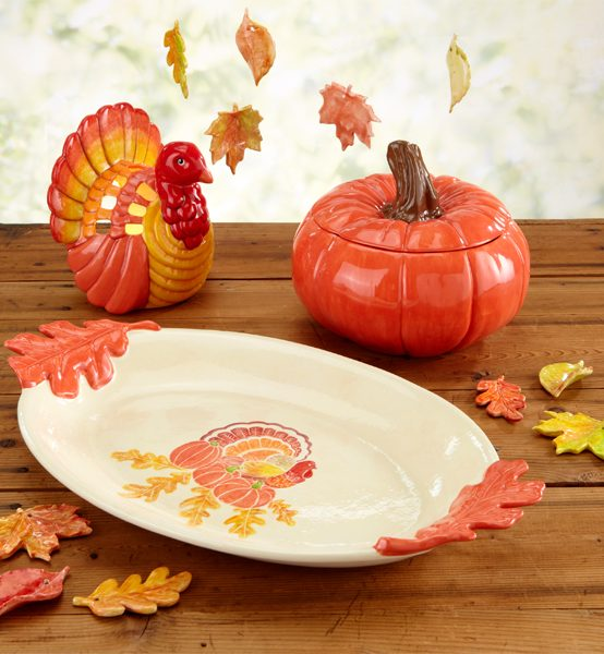 Paint Your Own Pottery: Giving Thanks