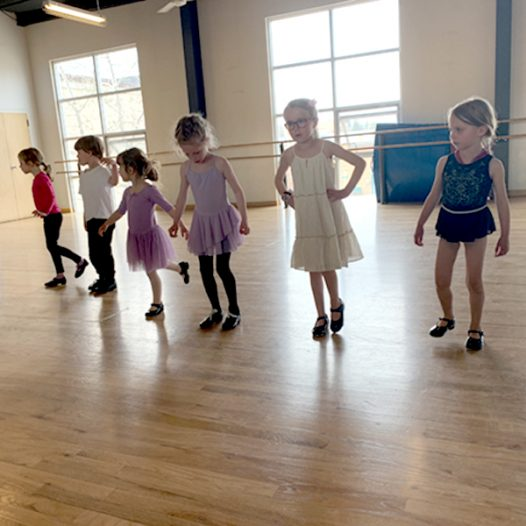 Ballet/Tap Combo ~ (Ages 4 – 6)