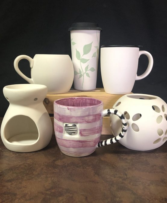 Paint Your Own Pottery ~ Take Home Kits