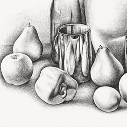 Still Life Drawing – Live Virtual Course