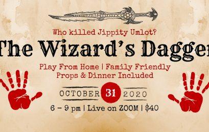 The Wizard's Dagger – A Virtual Murder Mystery
