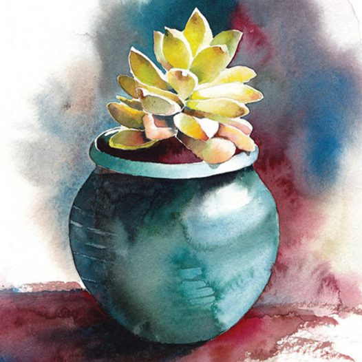 Still Life Watercolor Painting ~ (Ages 11 – 14)