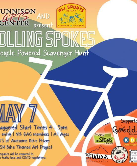 Rolling Spokes – A Bike Powered Scavenger Hunt