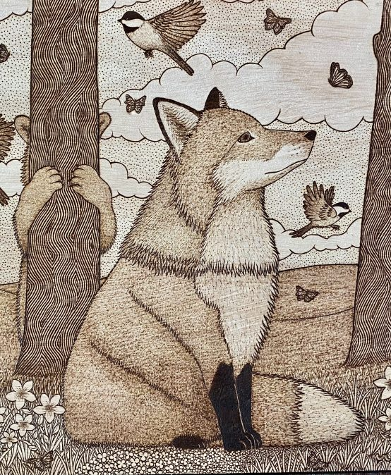 """Main Gallery: """"Into the Wood"""" by Chelsea Hoitt"""