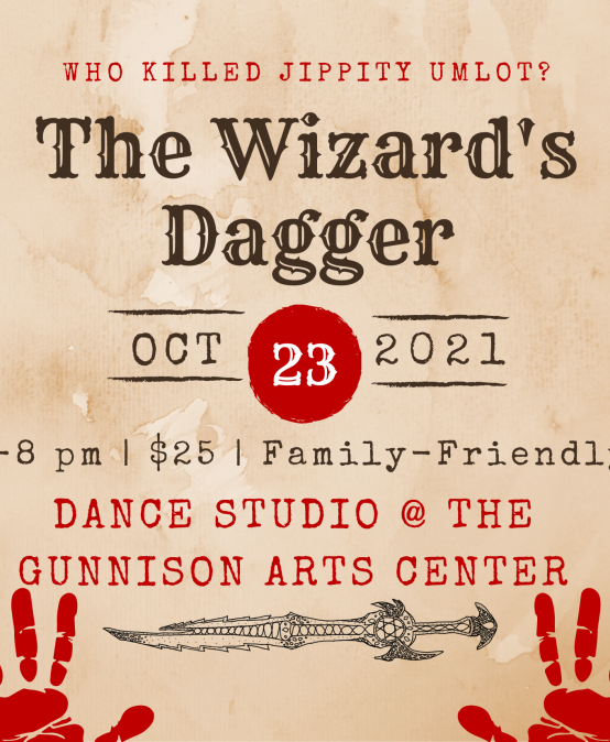 The Wizard's Dagger  A Family-Friendly Murder Mystery