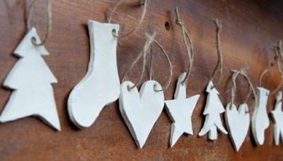 Clay Ornaments & Cocoa ~ Family Friendly